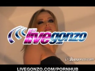 Alexis Texas Drilled Live on LiveGonzo
