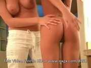 Two lesbian hotties Alison Angel & Nicole