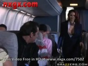 Passengers having quickie in an airplane!