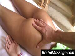 I Got Wet When My Masseur's Expert Hands Touched My Ass And Tits