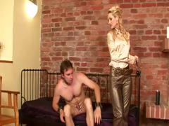 Femdom Cock And Ball Trampling