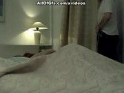 Amateur couple fuck on private video