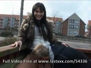 Great public and risky outdoor sex with h ...
