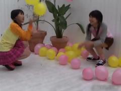 Horny Young Asian Having Fun Sucking Part4