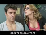 Big-boobed sex hungry teacher Aleksa Nico ...