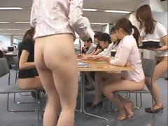 Pretty Asian Secretaries Are Working Part2
