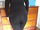 Skin Tight Black Jeans 2