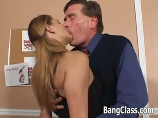 Sexy College Girl Seduces Her Teacher For A Hardcore Anal Sex