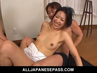 Hot MILF Chris Ozawa Fuck In Raunchy Group Sex