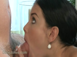 DaneJones Brunette Victoria B In Steamy Sex