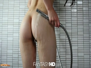PornPros Veronica Radke Gets Flowers Cock And Spanking