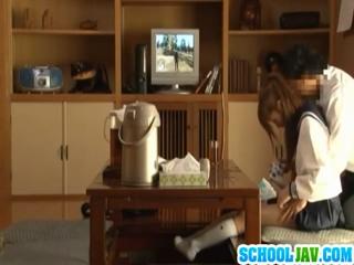 Voyeur Cam Captures Chika Eiro Having Sex