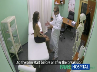 FakeHospital Hot Girl With Big Tits Gets Fingered And Fucked By Doctor