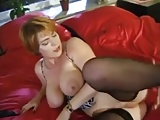 German mature milf Kira Red anal