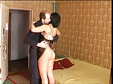 Russian Mature waited for her Man