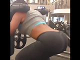 Nina Mercedes Working Out