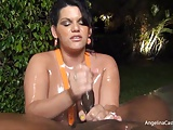 BEST Angelina Castro Oily Hand Domination!