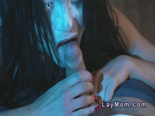 Dude fucks Demon mature lady