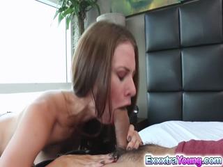 Skinny babe Anya Olsen hot hardcore fuck