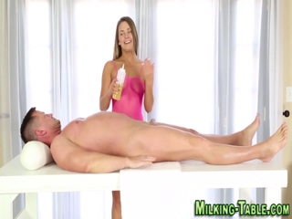 Massage babes get facial