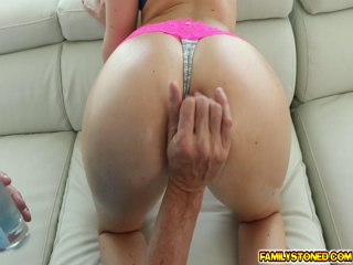 Step dads big cock got a pussy on top