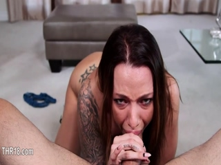 TReally perfect deep blowjob with whore 14