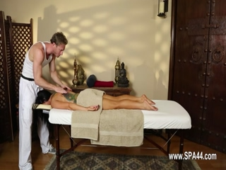 lovely massage actions from voyeur camera