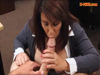 Big tits amateur wife banged by pawn guy