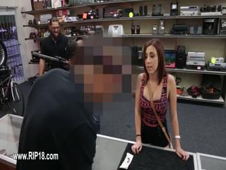 Amateur girl showing super deepfucking action 9