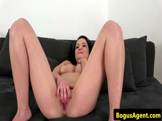 Casted amateur doggystyle fucked after bj 2