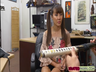 Chinese Tiffany fuck pawnman for money