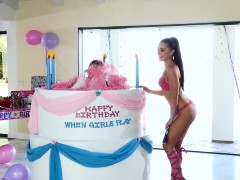 Twistys - When Girls Play Birthday - Adriana