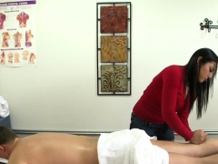 Bigtit Oriental Masseuse Wanking Clients Cock