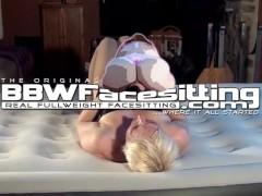 bbw squash skinny woman