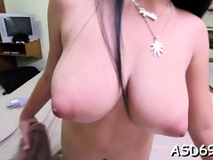 Talented Oriental Gal Sucks A Dick And Grinds On It Hard