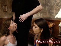 Rough Spanking Gangbang And Brutal Huge Cock Bondage,