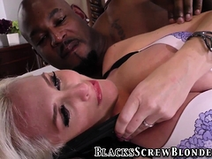 Blonde Milf Riding Bbc