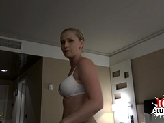 Hot Sister Pov Blowjob With Cumshot