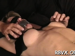 Depraved Thraldom Time With Nipple And Cunt Play