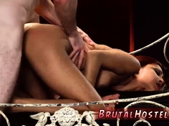 Brunette Bondage And Hard Double Anal Teen Poor Tiny Jade