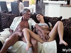 Daddy Makes Teen Cum And Friend' Associate's Daughter