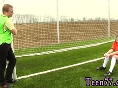 Teen Pumped Hard Dutch Football Player Ravaged By