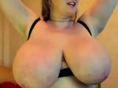 Hot Big Boobs Milf On Webcam