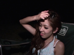 Asian Couple Go On A Sexy Camping Adventure
