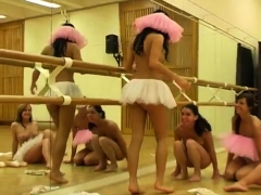Young Lesbians Caught By Mom Hot Ballet Chick Orgy