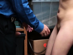 Blonde Army Anal And Masturbates Her Pussy Cum Suspect