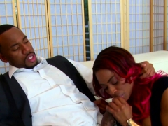 Ebony Tori Taylor Blows And Rides Bbc