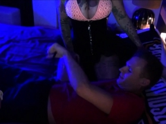 German Real Hardcore Prostitutes With Tattoo In Brothel