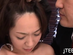 Sexy Schoolgirl Gets Hirsute Muff Licked And Pounded Hard