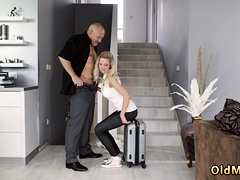 Lucky Young Guy With Milf Finally At Home, Eventually
